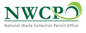 National Waste Collection Permit Logo